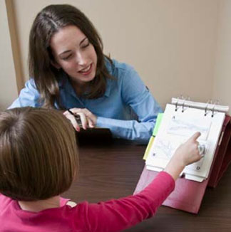 Counseling psychology graduate students have the opportunity to practice administering tests.