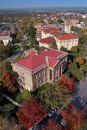 Lawrence campus aerial
