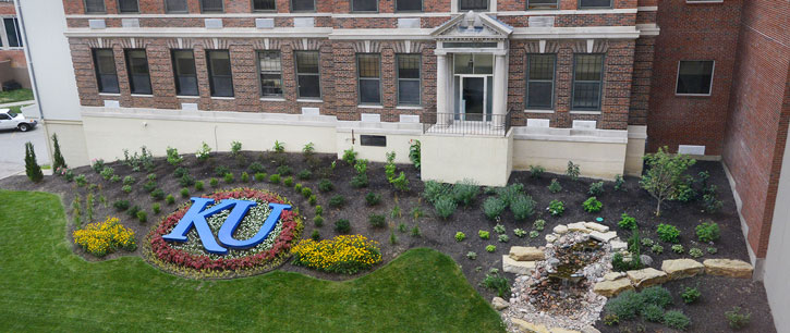 garden at KU Medical Center