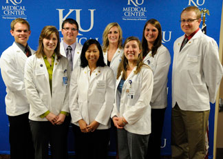 The University of Kansas School of Medicine-Salina inaugural class of first-year medical students.