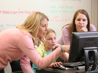 Students in KU's School of Education gain valuable experience through student teaching.