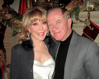 Barbara Eden and Jon Eicholtz